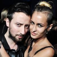 Anthony Vaccarello and Alice Dellal