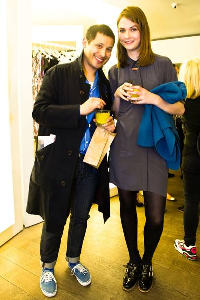 Alex Shah and Lara Mullen