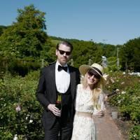Martin Williams and Camilla Davidson