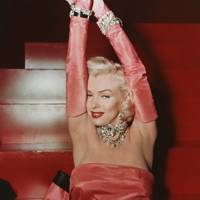 Marylin Munroe as Lorelei Lee in Gentlemen Prefer Blondes