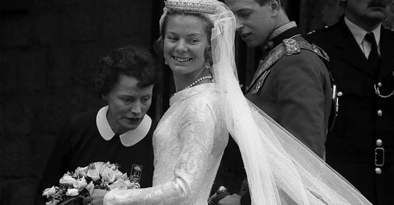 Tiara of the Month: The Duchess of Kent's wedding day tiara