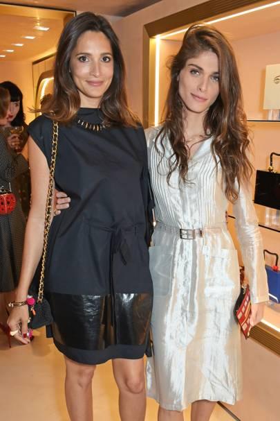 Astrid Muñoz and Elisa Sednaoui