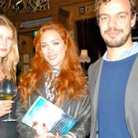 Claire Wells, Joao Medeiros and Joanna Della Ragione