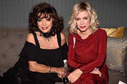 Dame Joan Collins and Donna Mills