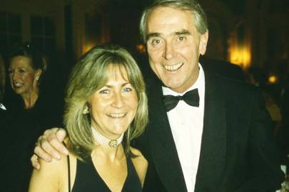 Mrs Philip Evans and Philip Evans