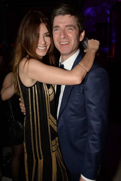 Sarah MacDonald and Noel Gallagher