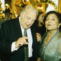 Sir Donald Sinden and the Maharani Vijaykuverba of Morvi