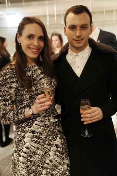 Samantha Hind and Matthew Spiteri