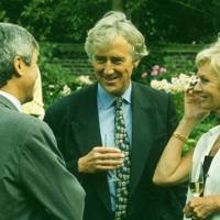 Didier Sabas, Lord Cobbold and Bernadette Rendall