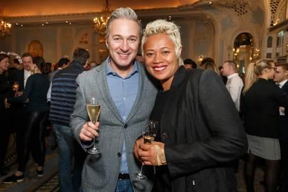 Iva Crispo and Monica Galetti