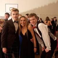 Tom Porter, Isla Cameron and Rafe Houston