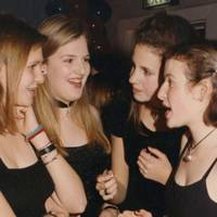 Kate Burca, Kasia Grocholska, Rebecca Smart and Freya Goolden