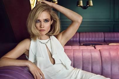 In her Tatler shoot, September 2015