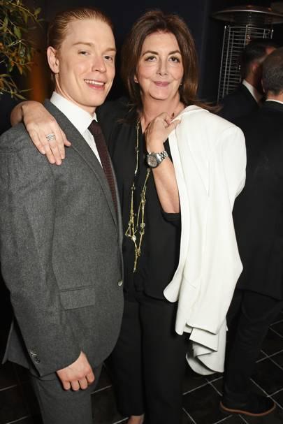 Freddie Fox and Kate Lenahan