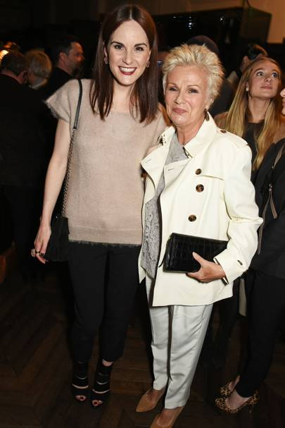Michelle Dockery and Julie Walters