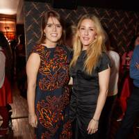 Princess Eugenie and Ellie Goulding