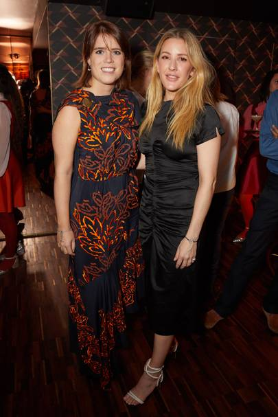 Princess Eugenie and Ellie Goulding