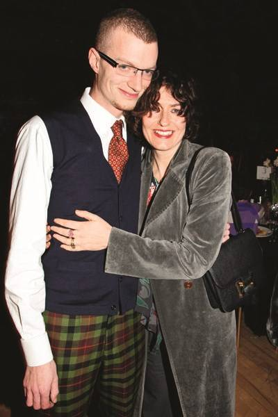 Euan Tennant and Anna Chancellor