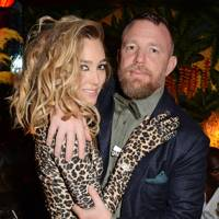 Jacqui Ainsley and Guy Ritchie at the Jungle Ball