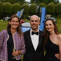 Helen Evenden, Marino Franchitti and Holly Mason