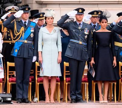 The Duke of Cambridge, the Duchess of Cambridge, the Duke of Sussex and the Duchess of Sussex