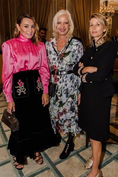 Narmina Marandi, Mary Greenwell and Suzanne Sharp