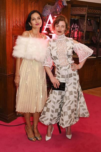Yasmin Mills and Camilla Rutherford