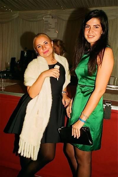 Isabel Thomander and Meleah Moore