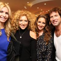 Melissa Odabash, Kelly Hoppen, Natasha Corrett and Chris James