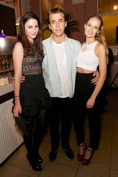 Marina Pengilly, Will Wells and Chloe Fleming
