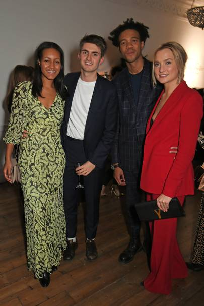 Alice Casely Hayford, Sean Baker, Charlie Casely Hayford and Sophie Ashby