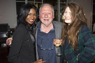 Jenny Jules, Kenneth Cranham and Kathleen Cranham