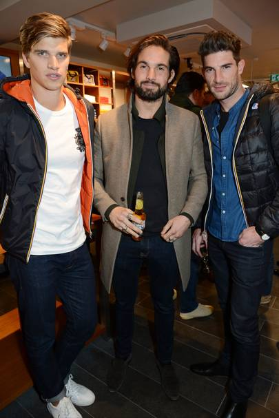 Toby Huntington-Whiteley, Jamie Jewitt and Ryan Barrett