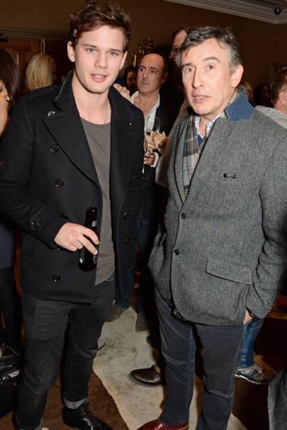 Jeremy Irvine and Steve Coogan