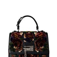 Leather & velvet nag, £2,555, by Dolce & Gabbana