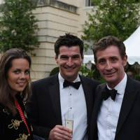 Lotte Lugg, George Bownes and Nick English