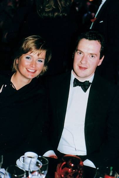 Kate Debb and George Osborne