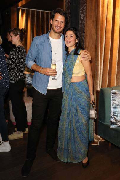 Ryan Kohn and Fatima Bhutto