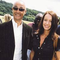 Andrew Ridgeley and Mrs Andrew Ridgeley