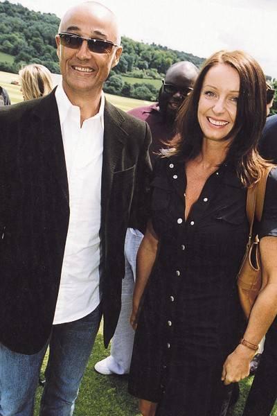 Andrew Ridgeley and Mrs Andrew Ridgeley