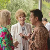Joanna Lumley, Lady St Johnston and Bruno Tonioli