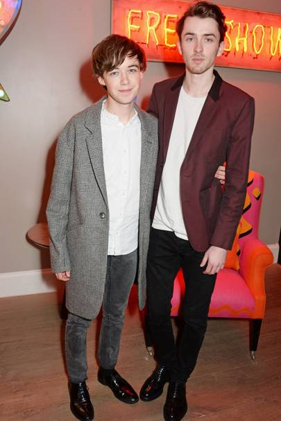Matthew Beard and Alex Lawther