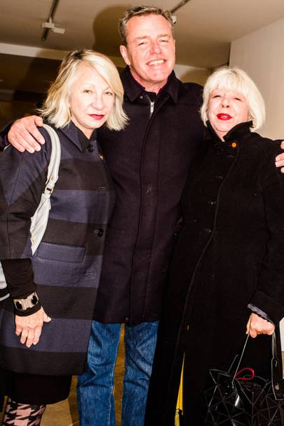Anne McPherson, Suggs McPherson and Sue Foulston