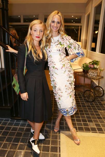 Kate Foley and Lauren Santo Domingo