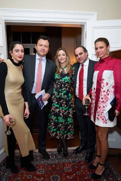 Daniela Riascos, Jairo Pachón, Kate Horne, Felipe Angel and María Inés Cortés
