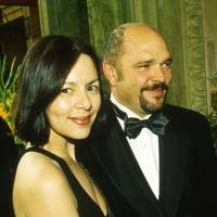 Mrs Anthony Minghella and Anthony Minghella