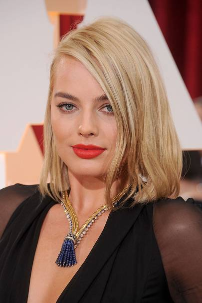 2015 - Margot Robbie at the Oscars