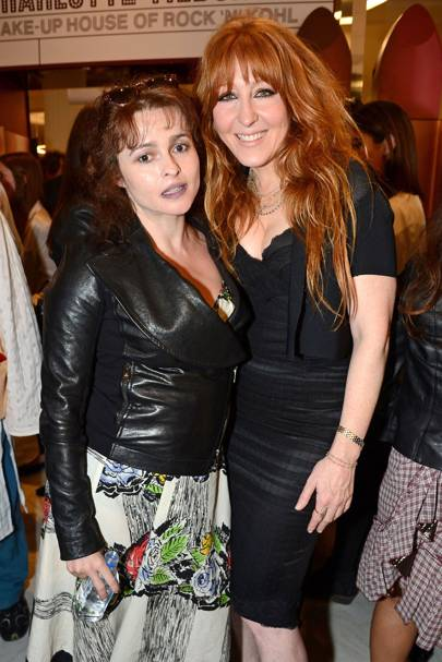 Helena Bonham Carter and Charlotte Tilbury