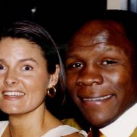 Mrs Chris Eubank and Chris Eubank