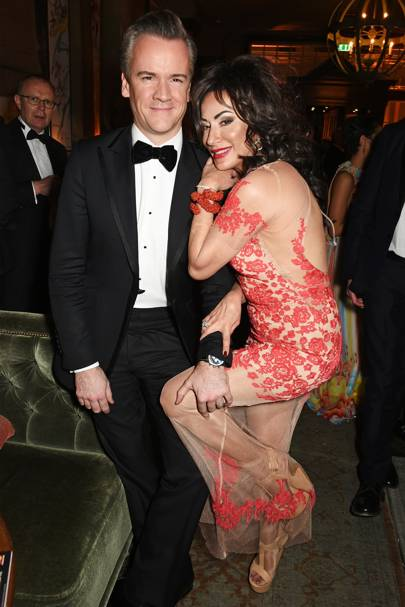 Michael Bosnor and Nancy Dell'Olio